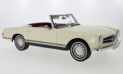 Modellauto - <strong>Mercedes</strong> 280 SL (W113), beige/schwarz, Pagode, 1968<br /><br />Premium ClassiXXs, 1:12<br />Nr. 229901
