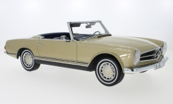 Modellauto - <strong>Mercedes</strong> 280 SL (W113), gold, Pagode, 1968<br /><br />Premium ClassiXXs, 1:12<br />Nr. 229902