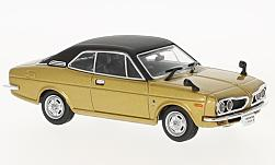 Modellauto - <strong>Honda</strong> 1300 Coupe 9, goud/zwart, RHD, 1970<br /><br />First 43 Models, 1:43<br />Nr. 229904