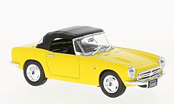 Modellauto - <strong>Honda</strong> S800, geel, RHD, gesloten, 1966<br /><br />First 43 Models, 1:43<br />Nr. 229910