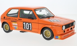 Modellino - <strong>VW</strong> Golf I Gr.2, arancio, No.101, Nothelle, 1975<br /><br />BoS-Models, 1:18<br />n. 229925