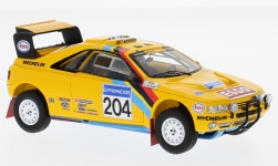 Modelcar - <strong>Peugeot</strong> 405 T16 Grand Raid, No.204, Camel, Rallye Paris Dakar, with Decals, B.Waldegard/J.-C.Fenouil, 1990<br /><br />Spark, 1:43<br />No. 230076