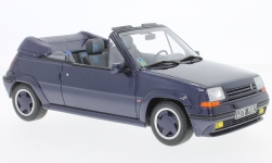 Modellauto - <strong>Renault</strong> 5 GT Turbo Cabriolet by EBS, metallic-blau, 1990<br /><br />Ottomobile, 1:18<br />Nr. 230096