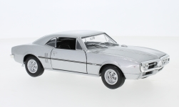 Modelcar - <strong>Pontiac</strong> Firebird, silver, 1967<br /><br />Welly, 1:24<br />No. 230166