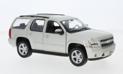 Modellauto - <strong>Chevrolet</strong> Tahoe, metallic-beige, 2008<br /><br />Welly, 1:24<br />Nr. 230170