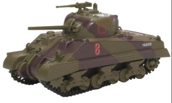 Modellauto - <strong>Military</strong> Sherman Tank MKIII, 18 Arm.Reg -4th Nz Arm.Brg.Italy, 1944<br /><br />Oxford, 1:76<br />Nr. 230281