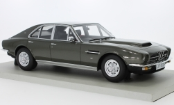 Modelcar - <strong>Aston Martin</strong> Lagonda, metallic-olive greeen, RHD, 1974<br /><br />Lucky Step Models, 1:18<br />No. 230420