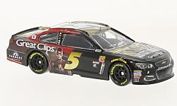 Modelcar - <strong>Chevrolet</strong> SS, No.5, Great Clips Justice League, Nascar, K.Kahne, 2017<br /><br />Lionel Racing, 1:64<br />No. 230523