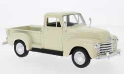 Modelcar - <strong>Chevrolet</strong> 3100 Pick Up, beige, 1953<br /><br />Welly, 1:24<br />No. 230531
