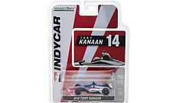 Modelcar - <strong>Chevrolet</strong> Indycar series, No.14, A. J. Foyt Enterprises, ABC Supply, Indycar, T.Kanaan, 2018<br /><br />Greenlight, 1:64<br />No. 230671