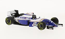 voiture miniature - <strong>Williams</strong> Renault FW16B, formule 1, GP Belgique, D.Hill, 1994<br /><br />Minichamps, 1:43<br />N° 230723
