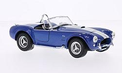 Modellauto - <strong>Shelby</strong> Cobra 427 SC, metallic-blau/weiss, 1965<br /><br />American Mint/Welly, 1:24<br />Nr. 230763