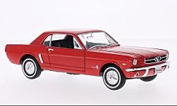 Modellauto - <strong>Ford</strong> Mustang Coupe, rot, 1964<br /><br />American Mint/Welly, 1:24<br />Nr. 230764
