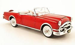 voiture miniature - <strong>Packard</strong> Caribbean, metallic-rouge, 1953<br /><br />American Mint/Yat Ming, 1:18<br />N° 230788