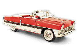 voiture miniature - <strong>Packard</strong> Caribbean, rouge/blanche, 1955<br /><br />American Mint/Motormax, 1:18<br />N° 230800