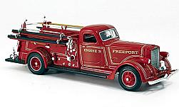 Modelcar - <strong>American LaFrance</strong> B-550RC, Freeport Fire Department, 1939<br /><br />American Mint/Yat Ming, 1:43<br />No. 230822
