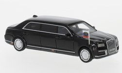 Modelcar - <strong>Aurus</strong> Senat, black, Russian State Car, 2018<br /><br />BoS-Models, 1:87<br />No. 230887