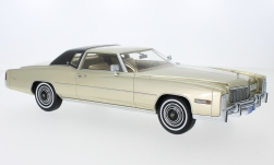 Modelcar - <strong>Cadillac</strong> Eldorado Coupe, gold/matt-black, 1976<br /><br />BoS-Models, 1:18<br />No. 231031