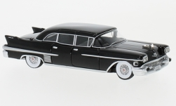 Modelcar - <strong>Cadillac</strong> Fleetwood 75 Limousine, black, 1958<br /><br />BoS-Models, 1:87<br />No. 231037