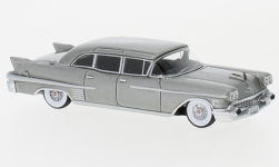 Modellauto - <strong>Cadillac</strong> Fleetwood 75 Limousine, metallic-grau, 1958<br /><br />BoS-Models, 1:87<br />Nr. 231038
