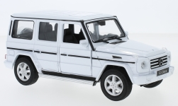 Modelcar - <strong>Mercedes</strong> G-Class, white<br /><br />Welly, 1:24<br />No. 231042