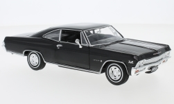 Modelcar - <strong>Chevrolet</strong> Impala SS 396, black, 1965<br /><br />Welly, 1:24<br />No. 231046