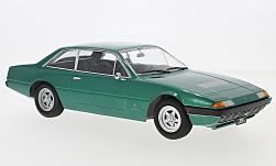 Modelcar - <strong>Ferrari</strong> 365 GT4 2+2, metallic-green, 1972<br /><br />KK-Scale, 1:18<br />No. 231057