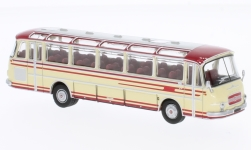 Modellauto - <strong>Setra</strong> S12, rood/beige<br /><br />Brekina Starline, 1:87<br />Nr. 231115