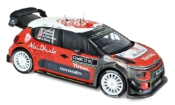 Modelcar - <strong>Citroen</strong> C3 WRC, Rallye WM, Presentation Version, 2018<br /><br />Norev, 1:18<br />No. 231183