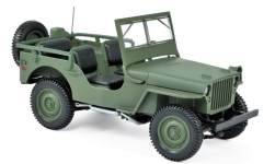 Modelcar - <strong>Jeep</strong> Willys, olive greeen, 1942<br /><br />Norev, 1:18<br />No. 231186