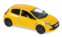 Modellauto - <strong>Renault</strong> Clio R.S., metallic-geel, 2009<br /><br />Norev, 1:43<br />Nr. 231225