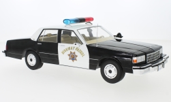 Modellauto - <strong>Chevrolet</strong> Caprice, California Highway Patrol 1987<br /><br />MCG, 1:18<br />Nr. 231441