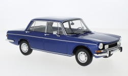 Modellauto - <strong>Simca</strong> 1501 Special, metallic-blau, 1974<br /><br />BoS-Models, 1:18<br />Nr. 231494