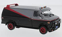 Modellauto - <strong>GMC</strong> Vandura, TV Serie A-Team, 1983<br /><br />Greenlight, 1:43<br />Nr. 231506