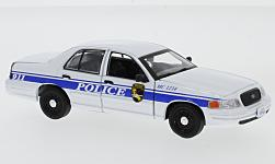 Modellauto - <strong>Ford</strong> Crown Victoria Police Interceptor, MacGyver, 2003<br /><br />Greenlight, 1:43<br />Nr. 231508