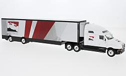 Modellauto - <strong>Kenworth</strong> T2000 Transporter, weiss, Indycar, 2018<br /><br />Greenlight, 1:64<br />Nr. 231526