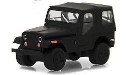 Modellauto - <strong>Jeep</strong> CJ-5, matt-schwarz, 1970<br /><br />Greenlight, 1:64<br />Nr. 231548