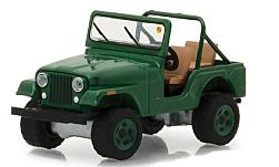 Modellauto - <strong>Jeep</strong> CJ-5, grün, 1974<br /><br />Greenlight, 1:64<br />Nr. 231584