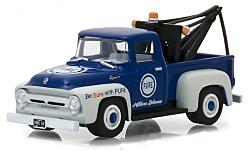 Modellauto - <strong>Ford</strong> F-100, Pure Oil, 1956<br /><br />Greenlight, 1:64<br />Nr. 231587