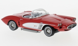 Modellauto - <strong>Chevrolet</strong> Corvette XP-700 Roadster Concept, rot/silber, 1959<br /><br />Neo, 1:43<br />Nr. 231605