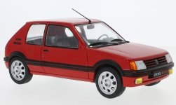 Modelcar - <strong>Peugeot</strong> 205 GTI 1.9, red, 1988<br /><br />Solido, 1:18<br />No. 231619