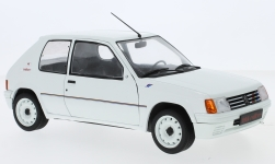 Modelcar - <strong>Peugeot</strong> 205 Rallye, white, 1988<br /><br />Solido, 1:18<br />No. 231620