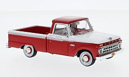 Modellauto - <strong>Ford</strong> F-100 Pick Up, rot/weiss, 1965<br /><br />Goldvarg Collections, 1:43<br />Nr. 231627