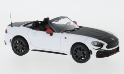 Modellauto - <strong>Fiat</strong> Abarth 124 Spider Turismo, weiss/schwarz, 2017<br /><br />IXO, 1:43<br />Nr. 231739