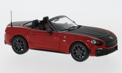 Modellauto - <strong>Fiat</strong> Abarth 124 Spider Turismo, dunkelrot/schwarz, 2017<br /><br />IXO, 1:43<br />Nr. 231740