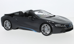 Modelcar - <strong>BMW</strong> i8 Roadster (I15), metallic-grey, 2017<br /><br />Minichamps, 1:18<br />No. 231764