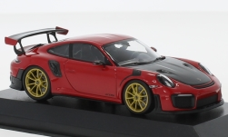 Modelcar - <strong>Porsche</strong> 911 (991.2) GT2RS, red, 2018<br /><br />Minichamps, 1:43<br />No. 231787
