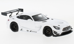 Modellauto - <strong>Mercedes</strong> AMG GT3, weiss, Plain Body Version, 2017<br /><br />Minichamps, 1:43<br />Nr. 231789