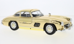 Modelcar - <strong>Mercedes</strong> 300 SL (W198), gold, 1954<br /><br />I-Minichamps, 1:18<br />No. 231790