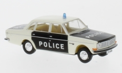 Modellauto - <strong>Volvo</strong> 144, Police Waadt/Vaud<br /><br />Brekina, 1:87<br />Nr. 231882